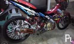 For sale or swap suzuki raider150 Complete orig papers
