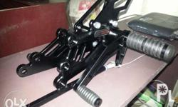 Okimura (OKM) single rearset for Raider 150 (black) Add
