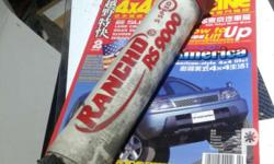 RFS: The other shock Absorber was either stolen or