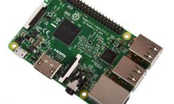 The Raspberry Pi 3 Model B looks identical to the Pi 2