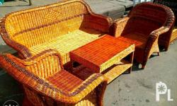 rattan wicker sala set (made to order) we can add