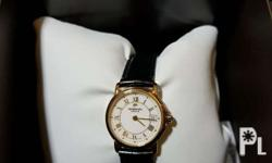 � Brand new & authentic � Swiss Made � 18K Gold