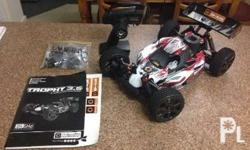 Hpi Trophy Buggy 3.5 nitro Almost new. 20k Message me