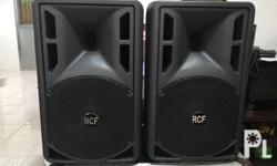 Rcf art 310a 10' powered speaker with case Made in