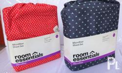 Brand new RE Room Essentials Bed Sheet Sets Red or