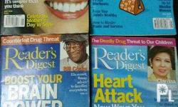 Old issues of Reader's Digest at 20php each, minimum