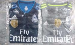 Real Madrid 2015-16 Away and Third Kits with FIFA Club