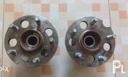 P2000 for 2 good rear hubs with bearings taken off a