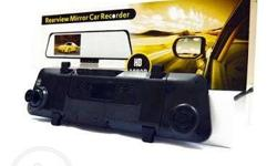 Rearview Mirror Car Recorder >Front and Rear Camera