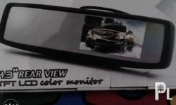 the rearview monitor is really amirror, but when you