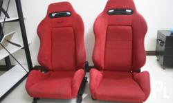 FOR SALE: Original Recaro Sr3 -Red, reclinable, with