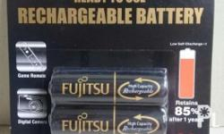 Ready to use rechargeable battery. AA (pack of 2)