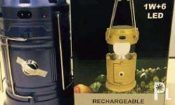 Rechargeable Camping Lanterns Meet up places and
