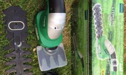 Rechargeable Lithium Ion grass / hedge trimmer