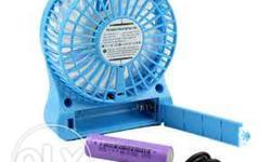 for sale: rechargeable mini fan good for gift or