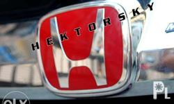 Red H Emblem for Honda City 2014 to 2015 - for front