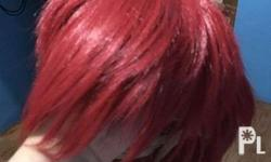 Red Male Wig >Bought at Vogue Royal Cosplay >Php 500