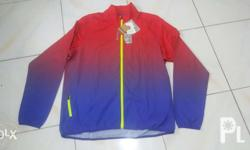 Reebok woven running jacket ombre for MEN * Brandnew