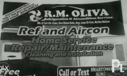 R.M OLIVA ref & aircon home service [services offered]