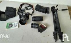 Canon Eos 450D DSLR camera all in txt or call #