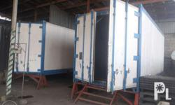 20 footer Refrigerated container van 3 phase 220volts