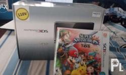 Selling my regular black 3DS with super smash bros. 3ds