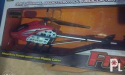 Remote Control Helicopter Almost new! Ready and Easy to