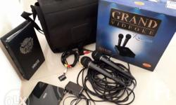 Grand Videoke Complete set -2 microphones -song book