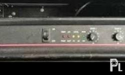Selling my pre-loved Power Amplifier Made in USA Bought