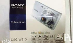 Sony cybershot camera 12.1 megapixel, 4x optical zoom,