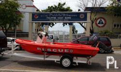 "RESCUE BOAT ""BARRACUDA II"" POLYMAX INDUSTRIAL"