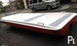 14ft Pure fiberglass double hull speedboat - rescue