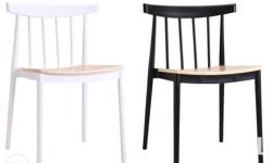 Item name: Napa Chair Color: Black or White in natural