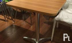 RESTAURANT TABLE TOP w BASE We have Square, Round &