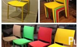 Stackable Plastic Dining Chair Color: PP Plastic in
