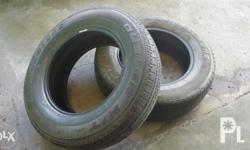Revo tubless tire (used) 205 70R15 96T - 800php each