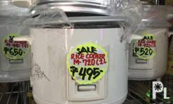 Legacy brand rice cooker brand new on sale at DLBB