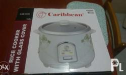 brandnew rice cooker orig price 1.8k selling 1.2k with