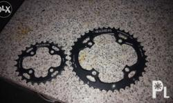ridea oval chainrings 42t 27t bought 1 month ago for