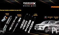 RIDEMAX Pure Comfort Shock Absorbers Free Install OR