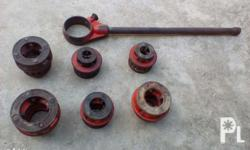 Ridgid Pipe Threader and Pipe Cutter For Pipe