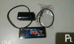 Rizoma Volt Meter for Motorcycle Plug and Play Accurate