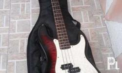 4 string RJ BASS GUITAR....in good condition like
