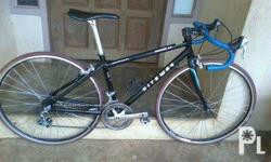 frame:rite way.. 42 fork:FUJI shifter:RSX 7 speed front