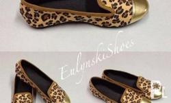 Chic and comfy, these leopard prints with cap toe are