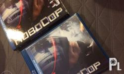 Selling my robocop blu-ray. 100% good as new and