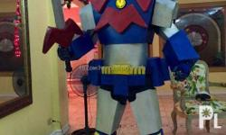 Robots Voltes V Cosplay Character Costume Hire or Rent