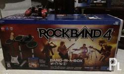 For SALE or SWAP!! Playstation 4 Rockband 4 Set Comes