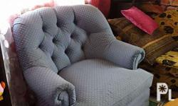 Rocking chair sofa type. Preloved. Used to lull baby to