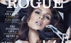 Rogue magazine July 2012 issue cover: Iza Calzado P499